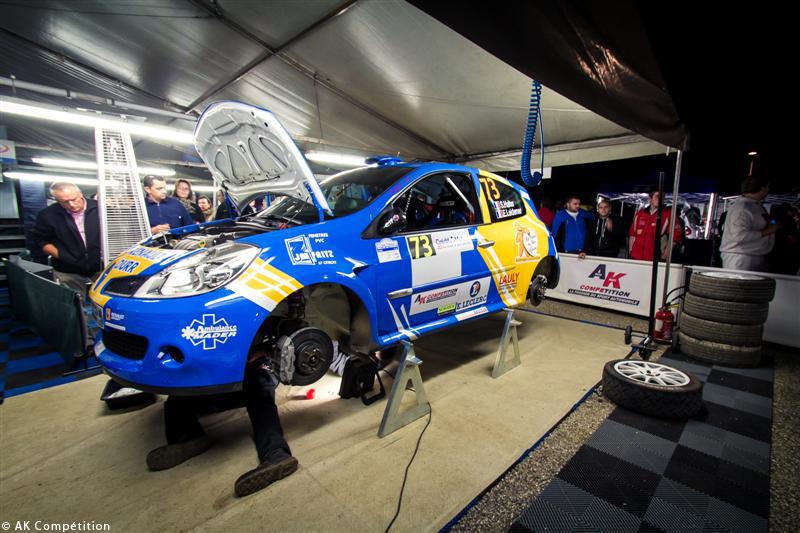 Soirée au Rallye de France Alsace