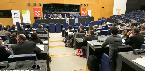 © « France Clusters » – à Parlement Européen - Strasbourg