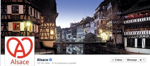 Page Facebook Alsace