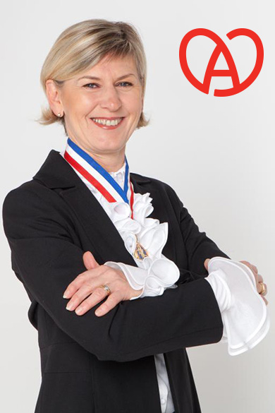 Chantal Wittmann, Présidente déléguée du groupement M.O.F. du Bas-Rhin