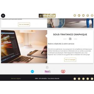 Site web Almédia