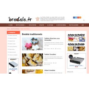 Site web Bredele