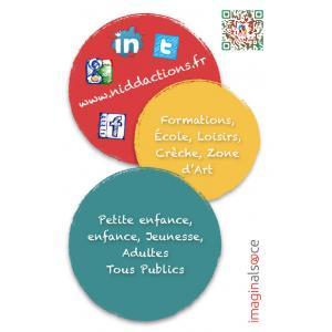 Carte de visite de l'association Nid d'actions