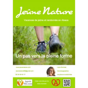 Flyer Jeûne Nature