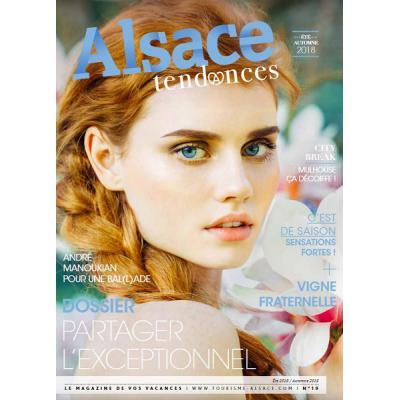 Magazine Alsace Tendances été/automne 2018