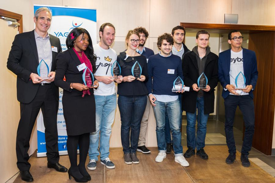 Lauréats YAGO 2017